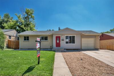 Denver Single Family Home Active: 7638 Umatilla Street