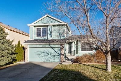 Centennial Single Family Home Under Contract: 5326 South Jericho Street