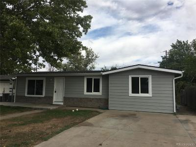 Commerce City Single Family Home Active: 7496 Magnolia Street