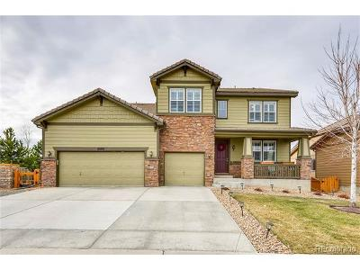 Parker CO Single Family Home Active: $600,000