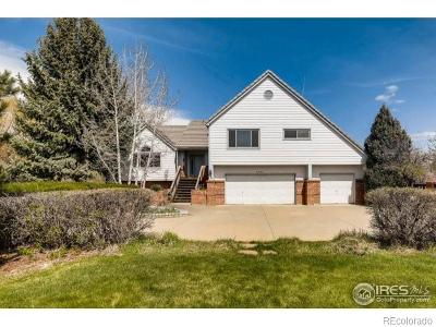 Boulder Single Family Home Active: 6249 Nottinghill Gate