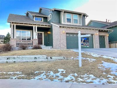 Castle Rock Single Family Home Under Contract: 4526 Arches Place