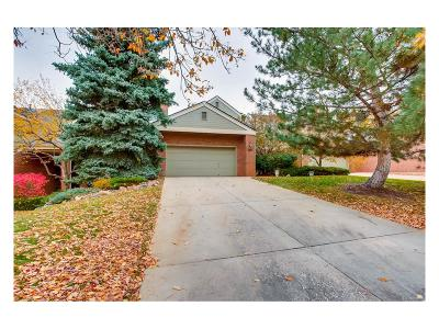 Highlands Ranch Condo/Townhouse Under Contract: 8841 Blue Mountain Place
