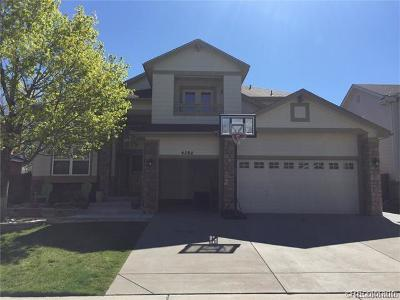 Littleton Single Family Home Active: 4784 South Webster Court