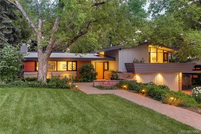 Littleton Single Family Home Under Contract: 3865 Chimayo Road