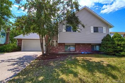 Littleton Single Family Home Active: 7746 West Quarto Drive