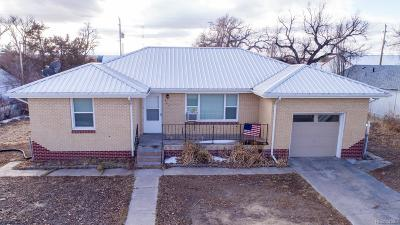 Deer Trail Single Family Home Active: 465 2nd Avenue