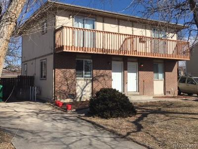 Commerce City Condo/Townhouse Active: 6385 East 78th Way