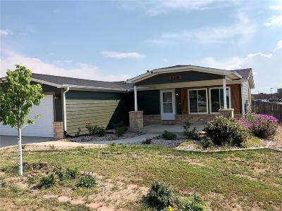 Kiowa CO Single Family Home Under Contract: $272,000