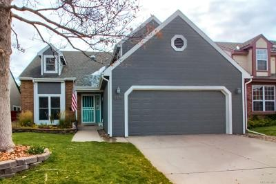 Highlands Ranch Single Family Home Active: 8836 Red Bush Trail