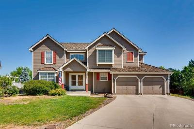 Littleton Single Family Home Active: 5427 South Zang Court