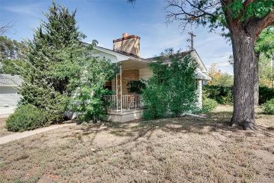 Denver Single Family Home Active: 2692 South Jackson Street