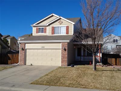 Castle Rock Single Family Home Under Contract: 1205 North Burlington Drive