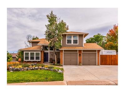 Littleton Single Family Home Active: 7318 South Zephyr Way