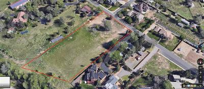 Arapahoe County Residential Lots & Land Active: 1783 South Uinta Way