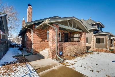 Denver Single Family Home Active: 351 Grant Street