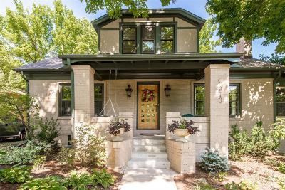 Denver Single Family Home Under Contract: 910 Fillmore Street