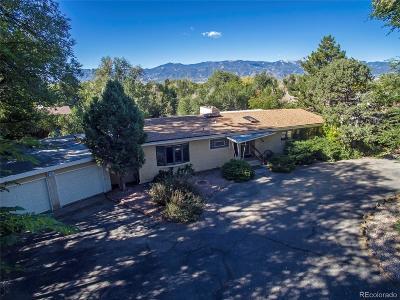Colorado Springs Single Family Home Active: 2610 North Chelton Road