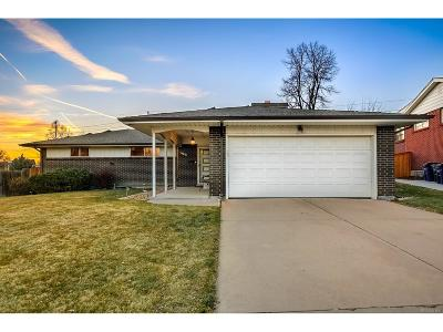 Denver Single Family Home Active: 3391 South Ulster Court