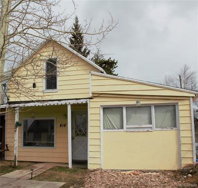 Leadville Single Family Home Under Contract: 418 East 8th Street