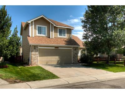 Firestone Single Family Home Under Contract: 10550 Falcon Street