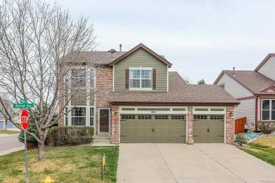 Highlands Ranch Single Family Home Under Contract: 3801 Garnet Way