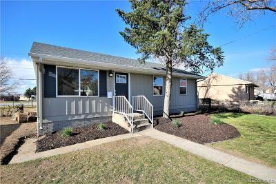 Commerce City Single Family Home Active: 7955 Larkwood Street