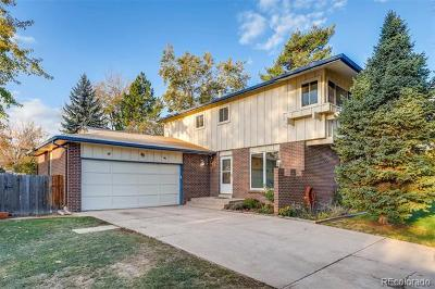 Littleton Single Family Home Active: 6230 West Maplewood Place