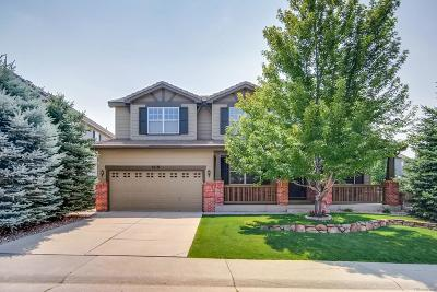 Castle Rock Single Family Home Under Contract: 4110 Blacktail Court