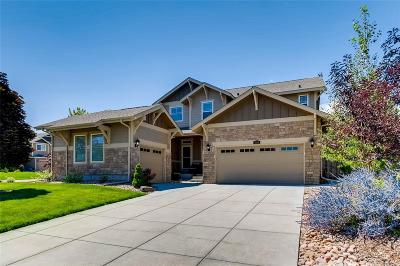 Aurora Single Family Home Under Contract: 6189 South Oak Hill Way