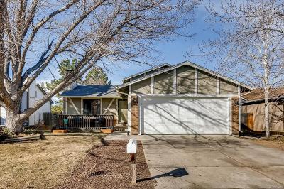 Aurora Single Family Home Under Contract: 16798 East Mansfield Circle