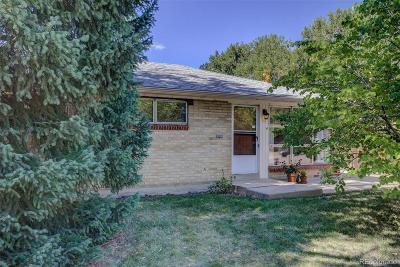 Denver Single Family Home Active: 3505 West Arizona Avenue