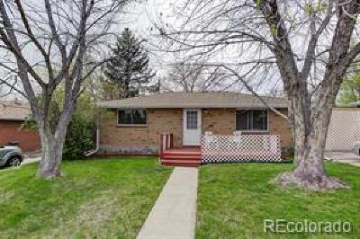 Arvada Single Family Home Under Contract: 5335 Garland Street