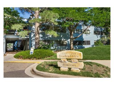 Boulder Condo/Townhouse Under Contract: 1576 Bradley Drive #101C