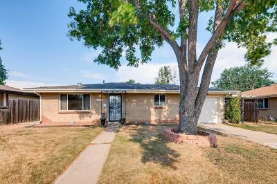 Wheat Ridge CO Single Family Home Under Contract: $312,000