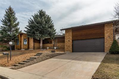 Longmont Single Family Home Under Contract: 5497 Gunbarrel Road
