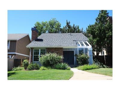 Centennial CO Single Family Home Under Contract: $389,000