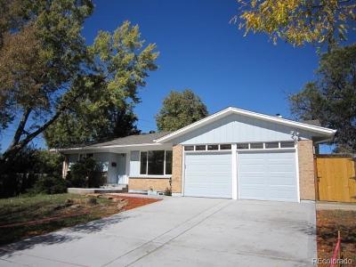 Denver Single Family Home Active: 8195 East Mansfield Avenue