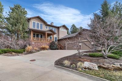 Castle Pines Single Family Home Under Contract: 1105 Forest Trails Drive