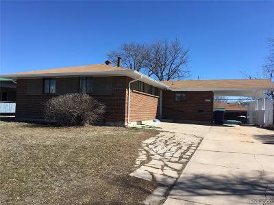 Denver Single Family Home Active: 2018 South Zenobia Street