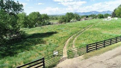 Lafayette Residential Lots & Land Active: 4384 North 95th Street