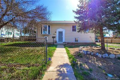 Denver Single Family Home Active: 7836 Sherman Street