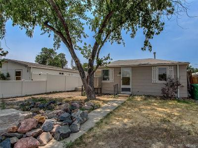 Commerce City Single Family Home Under Contract: 7031 Grape Street