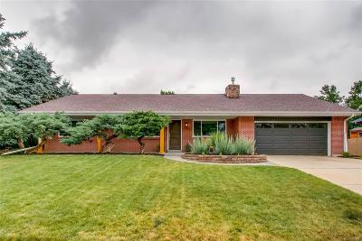 Golden Single Family Home Active: 14865 West 53rd Avenue