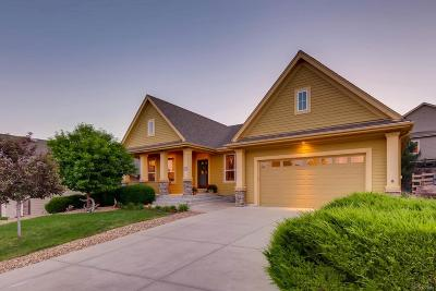 Castle Rock Single Family Home Under Contract: 1815 Wild Star Way