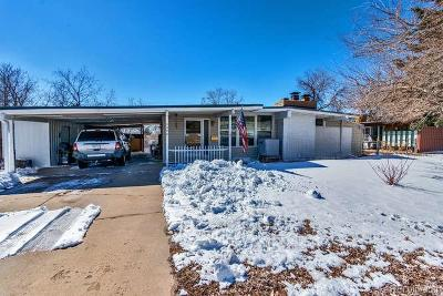 Aurora, Denver Single Family Home Under Contract: 2480 West 80th Avenue