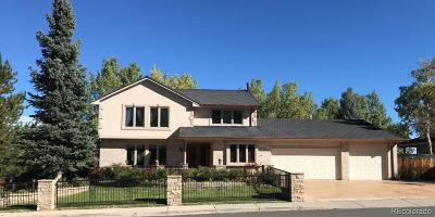 Littleton Single Family Home Active: 10599 West Vista View Drive
