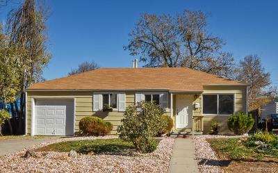 Aurora CO Single Family Home Under Contract: $260,000