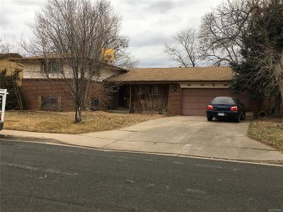 Denver Single Family Home Under Contract: 2780 South Vance Way