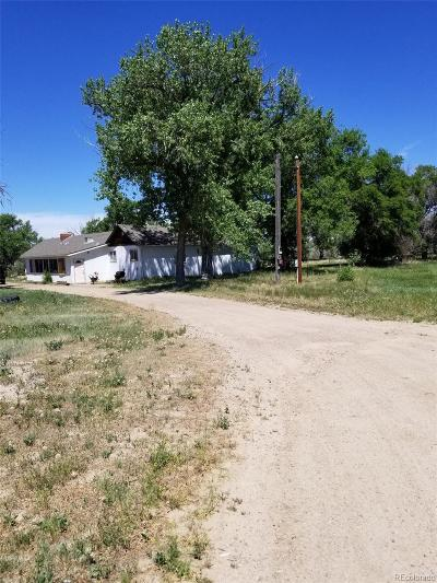Agate CO Single Family Home Under Contract: $225,000